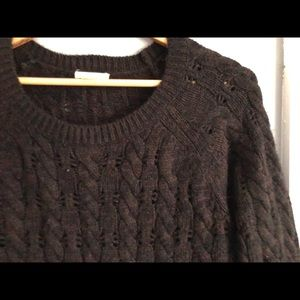 Nordstrom cable knit sweater M